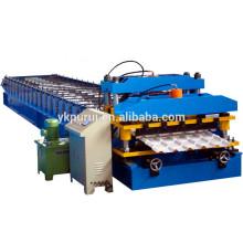 Machine de fabrication de tuiles de toit personnalisée