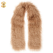 Winter Women Mongolian Lamb Fur Scarves Sheep Fur Scarf