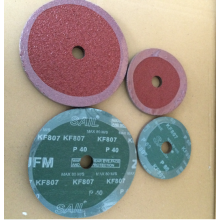 Good Quality for Sanding Paper Fiber Disc Aluminum Oxide 0.8mm Fiber Disc supply to Tajikistan Supplier
