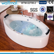 Long Quality Whirlpool Massage Bathtub with Bubble
