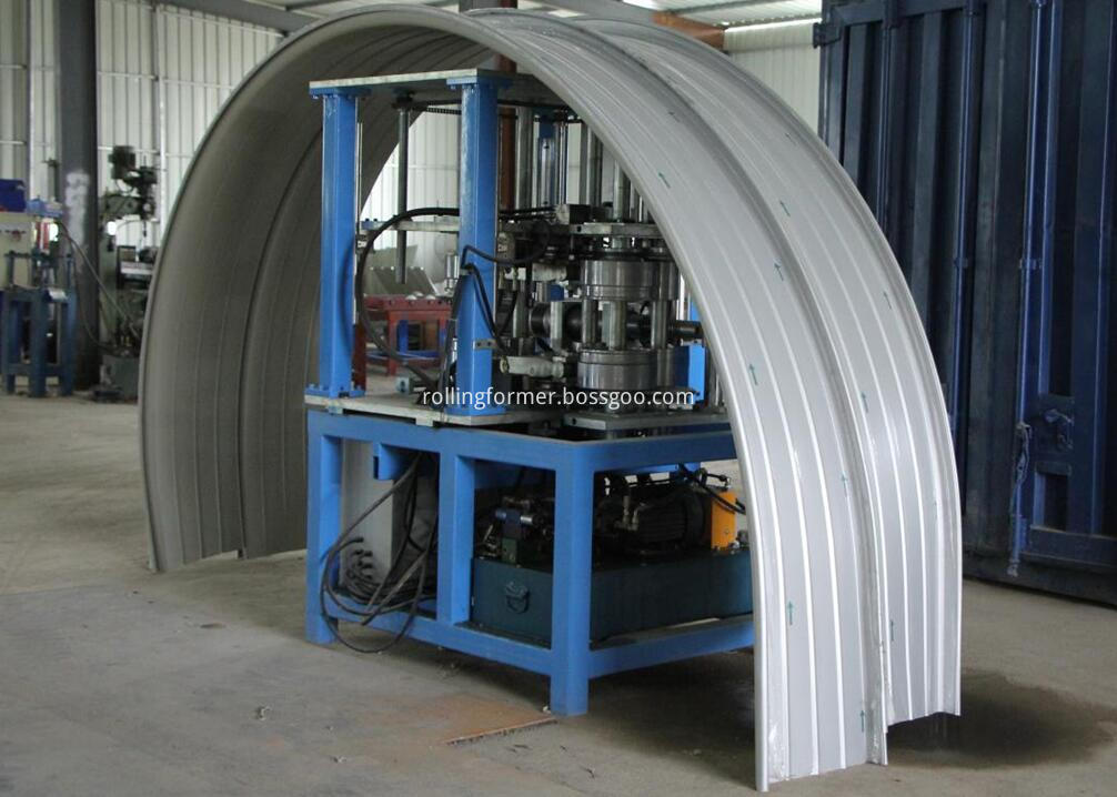 standing seam panel curver