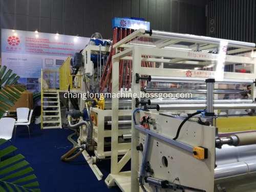 CL-7010070A LLDPE Stretch Film Machine