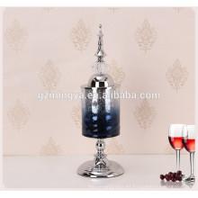 artesanía al por mayor del metal decoración de la boda cristal y arte del arte del metal