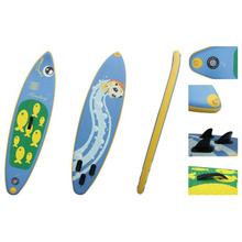 2.4m Small Inflatable Sup Board for Teenager and Female, Surf Board, Stand up Paddle Board