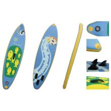 2.4m pequena prancha de Sup inflável para adolescente e feminino, prancha de Surf, Stand up Paddle Board
