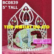 fish crystal beauty pageant crown