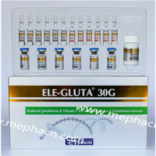 Intoxication contre le glutathion pour blanchiment de la peau 30g #Produits bon marché Factory Supply #