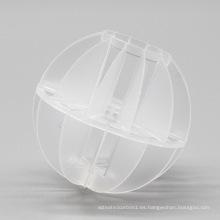 Embalaje hueco poliédrico de la bola, embalaje plástico de la torre