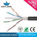 Best price 4pairs 8cores twisted pair utp waterproof cat6 outdoor cable
