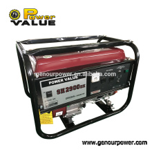 Power value 3 kva 220v generator gasoline with cheap price