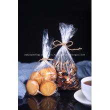 Прозрачные пластиковые пакеты для хлеба HDPE
