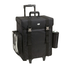Oxford Cosmetic Case with Trolley for Make UPS