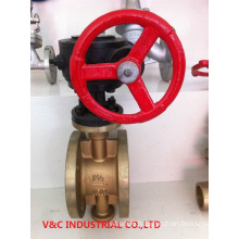 Three Eccentric Metal Seat Bronze Butterfly Valve
