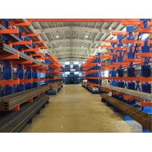 Double Sided industrial paller rack shelving cantilever racking High Customized Supply Chain Length