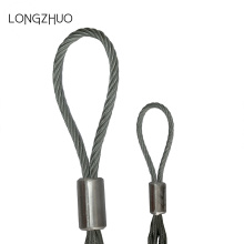 Single Eye verzinkte kabel Trekken Mesh Grips
