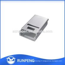 Profilés d'extrusion en aluminium à boîtier lumineux à LED