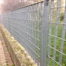Galvanized Horizontal Steel Grating Fences