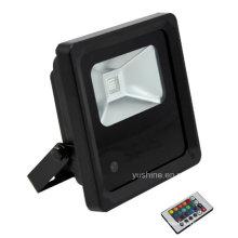 10W RGB luz de inundación LED al aire libre
