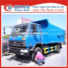 2015 nuevo estado dongfeng camión de basura 14 m3