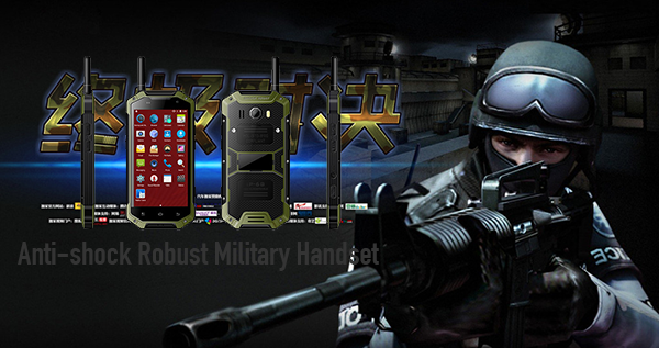Anti-shock Robust Military Handset