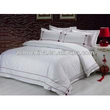 Los diversos colores vendedores calientes venden al por mayor el sitio de la cama del hotel fijado