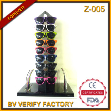 Z-005 2016 Newest Released Cardboard 100% DIY Display for Interchangeable Temples Sunglasses Merchandising in Wenzhou