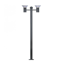 7W High Bright Solar Garden Light Match Pole