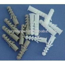 tubo expansível de nylon plástico
