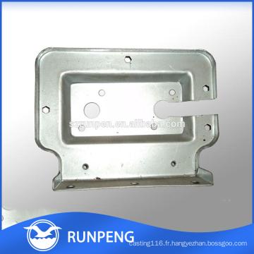 Pièces en tôle en tôle d'estampage en aluminium