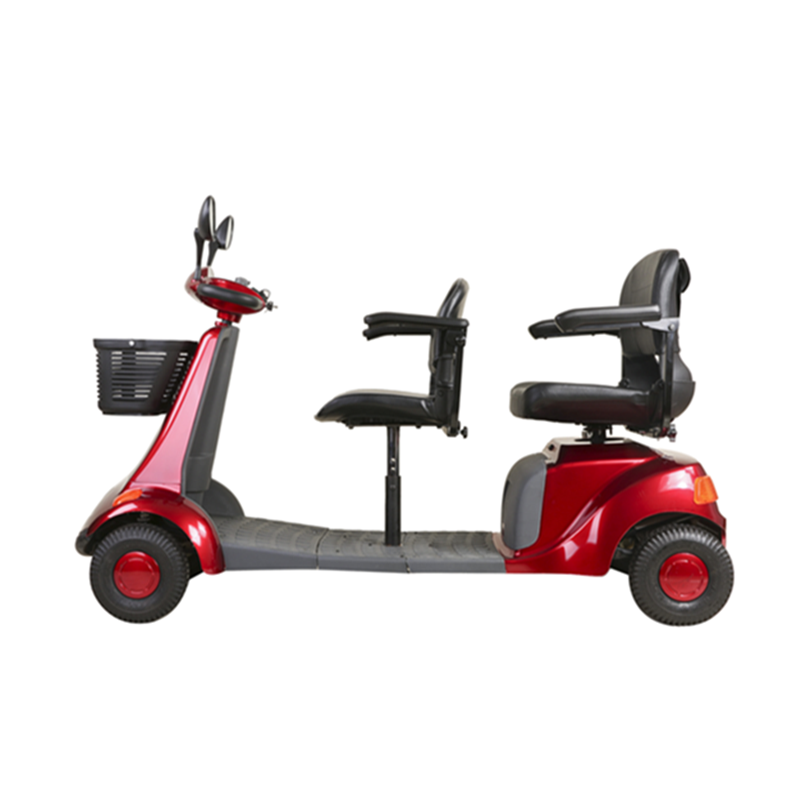 Front and rear seat scooter (2)