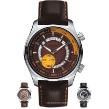 Reloj mecánico de 50 metros de resistencia al agua Reloj de calidad de lujo