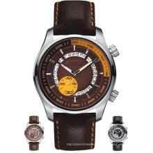 Montre mécanique 50 mètres de résistance à l'eau de luxe Qualité Timepiece
