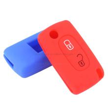 Cubierta de llave de coche de goma de silicona a prueba de polvo con logotipo personalizado