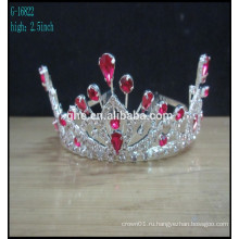 Корона форме обручальное кольцо тиары кристалл короны тиары жемчуг и бисера тиара мода тиара