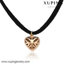 43818-bas prix bijoux de mode coeur coeur tour de cou