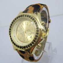 Heiße verkaufenquarz-Art- und Weisedame-Geschenk-Uhr