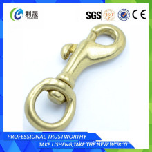 Brass carabiner swivel d ring snap hook