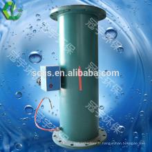 Fabrication d'un filtre à eau antibactérien entièrement intégré à l'eau intégrée