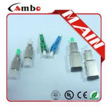 Atenuador de fibra óptica monomodo 1310 1550um