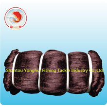 Nylon Multfilament Fishing Net avec couleur marron