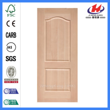 JHK-S02 Natural Beech New Design  Moulded Exterior Door Skin Prices