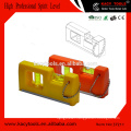 two bubble pocket plastic box spirit level