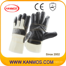 Dark Furniture Leather Work Industrial Safety Work Gloves (310022)