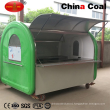 Large Mobile Fast Food Vending Trailer