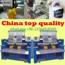 Máquinas de bordar industriais novas e usadas à venda boné com t-shirt bordado