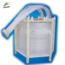 Intercambiador de calor de aislamiento de alta temperatura anticorrosivo PFA