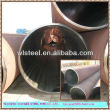 TUBO DE ACERO DE CARBONO ERW para servicio líquido hecho en China