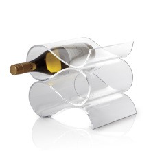 Superb Acrylic Champagne Display, Clear Lucite Wine Display Holders