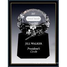 Prêmio Crystal Radiance Diamond 6 polegadas de altura