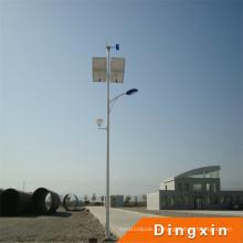 Venta caliente al aire libre que enciende LED luces de calle solares del viento de la luz de calle solar de la calle